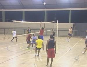 Seleção de Vôlei de Guajará-Mirim  (Foto: Reprodução/TV Guajará- Mirim )