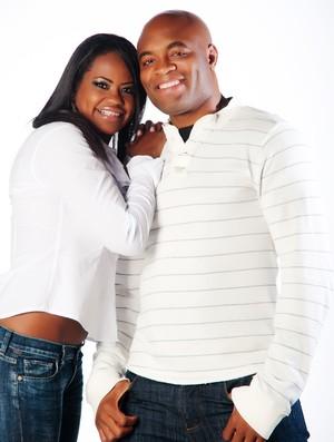 Mulheres do MMA Dayane Silva, esposa de Anderson Silva (Foto: Arquivo Pessoal)