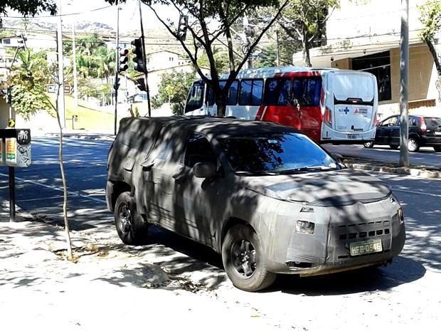 Fiat já definiu nome da picape, mas ainda não divulgou oficialmente (Foto: Humberto Trajano/ G1)