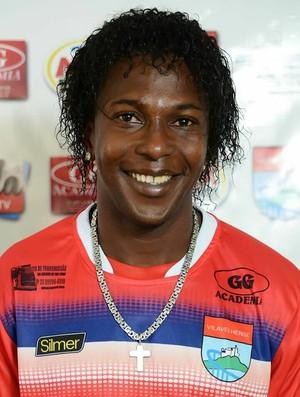 Magalhães, atacante do Vilavelhense (Foto: Divulgação/Vilavelhense FC)