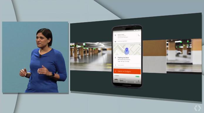 Aparna Chennapragada, diretora do Google Now (Foto: Reprodução/Google)