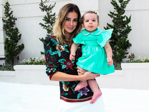Vera Viel com a filha, Helena, em festa em São Paulo (Foto: Manuela Scarpa/ Foto Rio News)