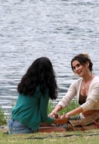 Deborah Secco e Aline Dias gravam nova temporada de 'Malhação'