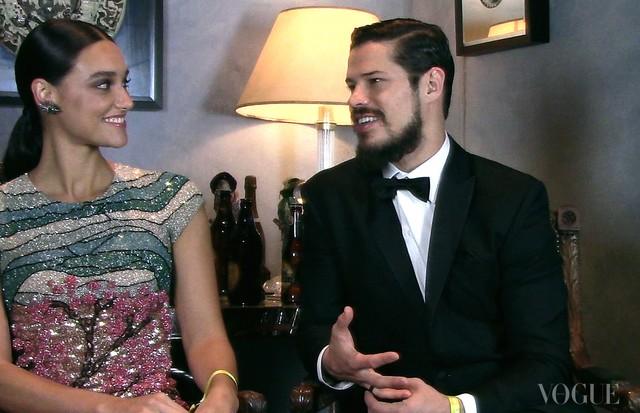 Debora Nascimento com José Loreto (Foto: Reprodução)