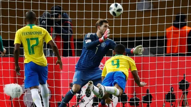 Alemanha x Brasil - Amistosos 2018 - globoesporte.com 721fdb6611e45