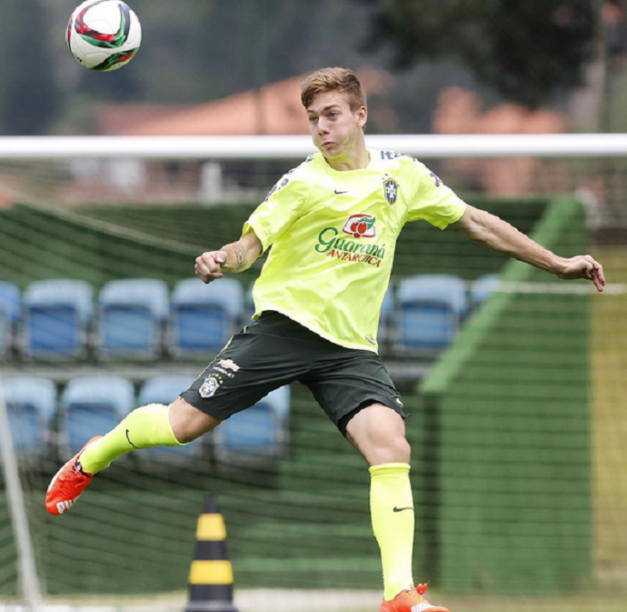 dc460fa1ae Luís Henrique marca em amistoso e será o camisa 9 no Mundial sub-17