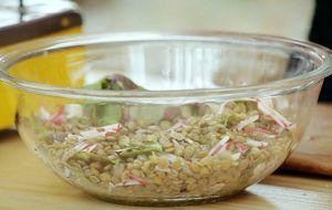 Salada de lentilha com manjericão: receita da Bela Gil