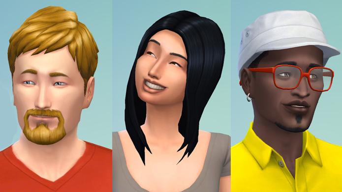 The Sims 4 permitirá criar personagens únicos (Foto: Reprodução/Tais Carvalho)