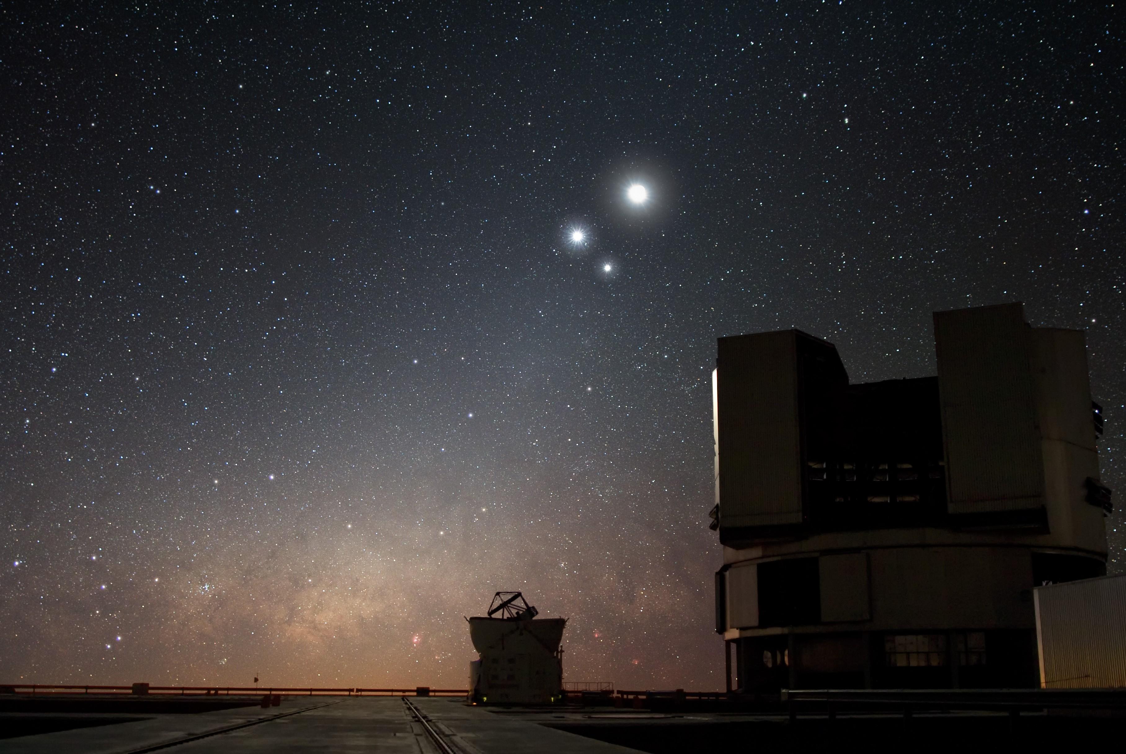 Saiba como ver o alinhamento dos cinco planetas a olho nu