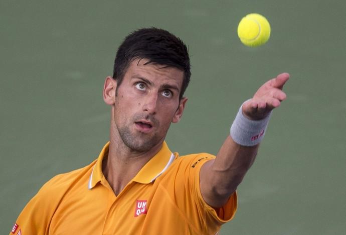 Novak Djokovic x Thomaz Bellucci Masters 1.000 Montreal tenis (Foto: AP)