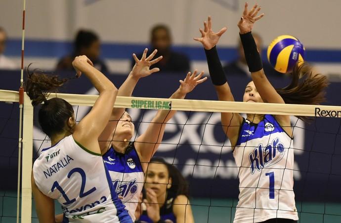 Rio de Janeiro x Pinheiros Superliga feminina (Foto: André Durão)