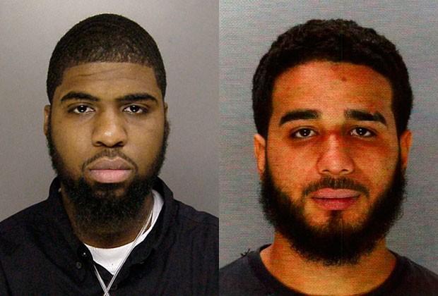 Cornelius Crawford e Jonathan Rosa em foto da polícia da Filadélfia (Foto: Philadelphia Police Department/Reuters)