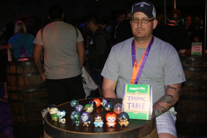BlizzCon tem espaço para trocas de itens repetidos (Foto: Felipe Vinha)