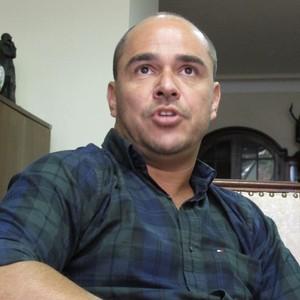 Marcelo Teixeira, gerente da base tricolor (Foto: Richard Souza)