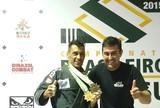Lutadores de Uberlândia conquistam medalhas no Brasileiro de Jiu-Jítsu