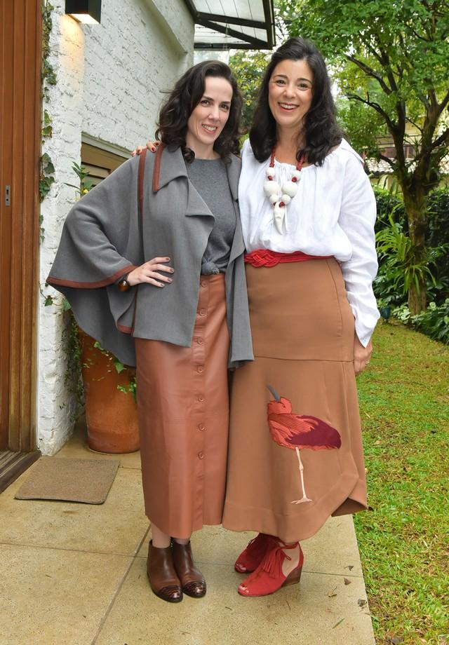 Ana Isabel de Carvalho Pinto e Roberta Belotti (Foto: Divulgação)