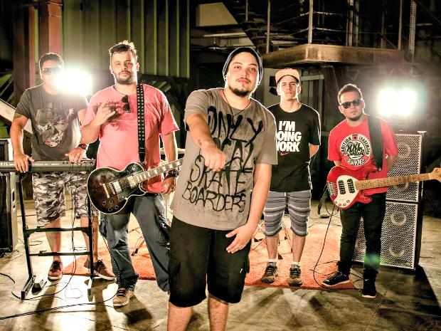 Banda Osllo existe há um ano e está finalizando o primeiro videoclipe, que será lançado em abril (Foto: Divulgação)