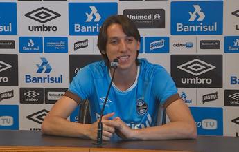 """Convocado, Geromel fala em """"ponto alto na carreira"""" e agradece ao Grêmio"""