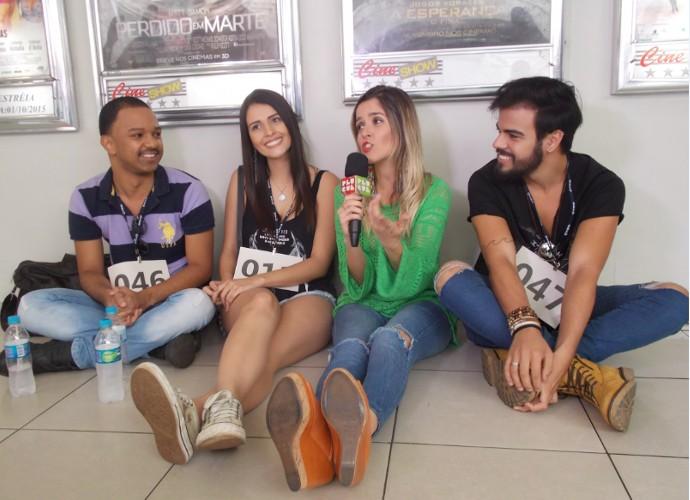 'Plugue' vai mostrar os bastidores do primeiro dia de audições da série 'República de Férias' (Foto: Maria Clara Jordão)