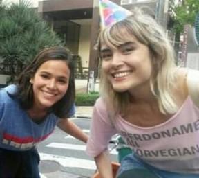 Maria Casadevall e Bruna Marquezine (Foto: Instagram / Reprodução)