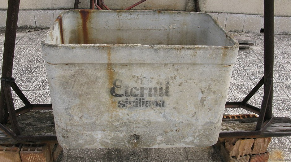 Caixa d'água da Eternit (Foto: Wiki)