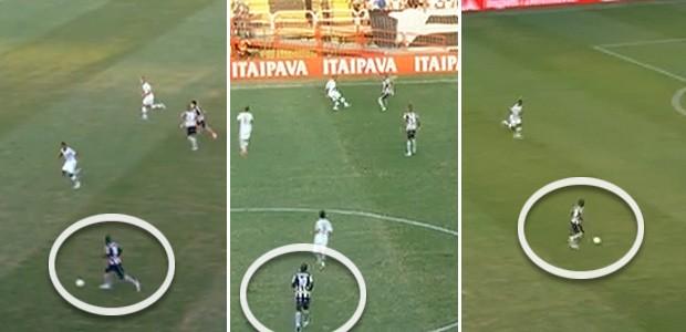 Seedorf frames análise tática Botafogo (Foto: Reprodução)