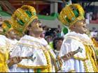 Império Serrano faz peregrinação e romaria na Marquês de Sapucaí
