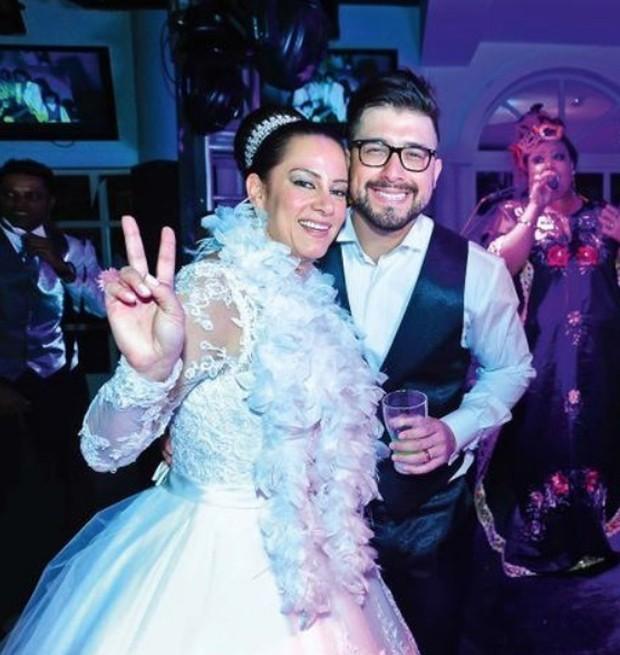 Silvia Abravanel e Edu Pedroso (Foto: Reprodução/Instagram)