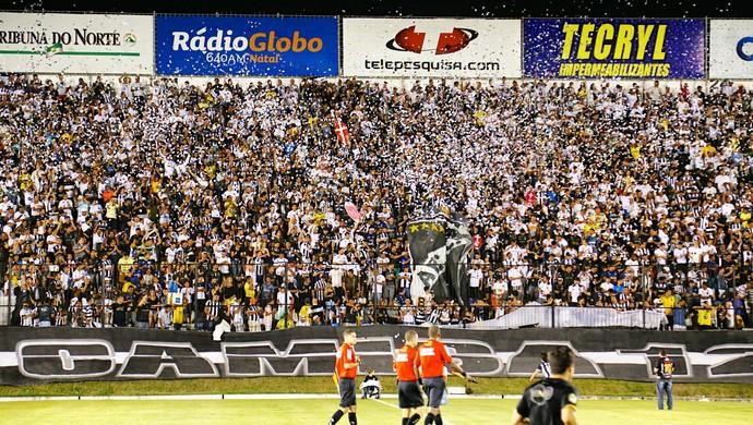 torcida frasqueirão (Foto: Divulgação/ABC FC)