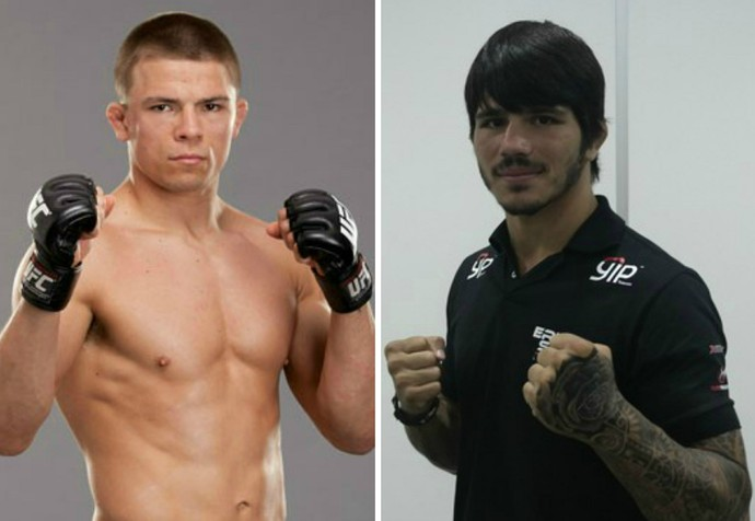 Erick Silva quer enfrentar Rick Story em 2015 (Foto: Montagem sobre fotos de Richard Pinheiro e UFC)