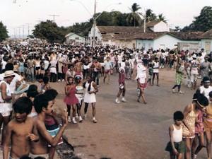 A Banda quando saiu nas ruas de Macapá em 1979 (Foto: Arquivo Pessoal/Edgar Rodrigues)