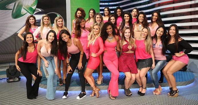 Bailarinas do Faustão (Foto: Carol Caminha)