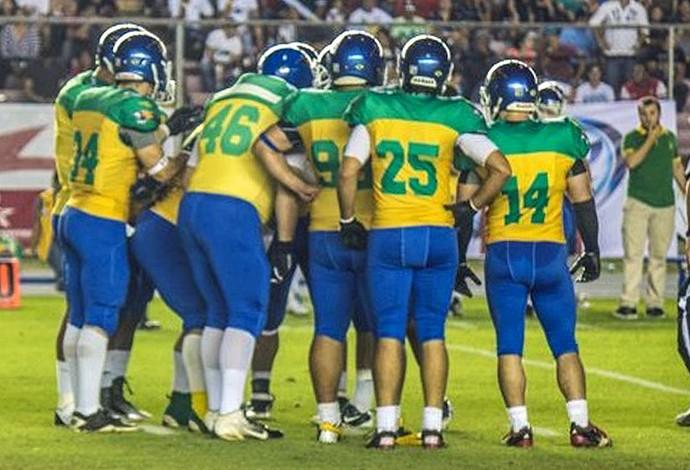 086e7e6f9 Seleção Brasileira faz história com vaga inédita para Copa do Mundo de Futebol  Americano (Foto