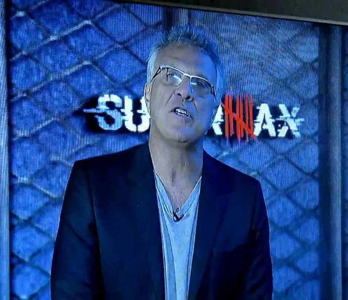 Pedro Bial anuncia a primeira prova do reality (Foto: TV Globo)