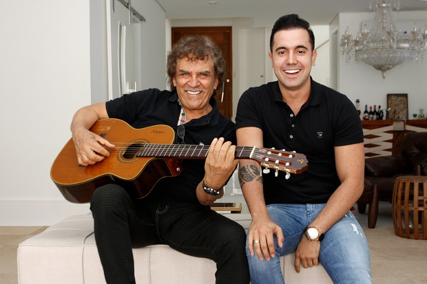 Matogrosso e Mathias (Foto: Celso Tavares/EGO)