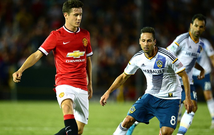 Ander Herrera amistoso do Manchester United (Foto: Getty Images)
