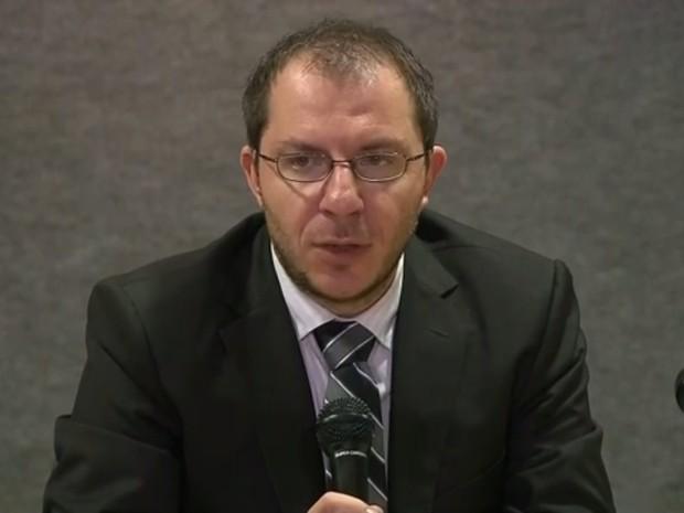 Delegado da PF Márcio Adriano Anselmo (Foto: Reprodução/TV Globo)