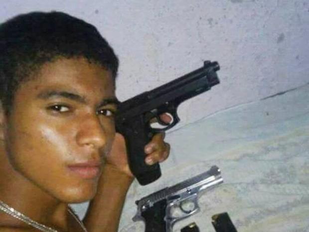 Suspeito de matar o PM foi identificado como José Roberto de Brito (Foto: PM/Divulgação)