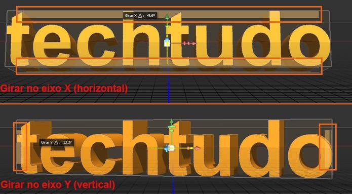 Gire o texto na horizontal e na vertical em 3D no Photoshop (Foto: Reprodução/Barbara Mannara) (Foto: Gire o texto na horizontal e na vertical em 3D no Photoshop (Foto: Reprodução/Barbara Mannara))