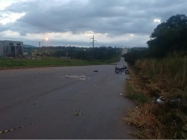 Acidente aconteceu no Setor Buena Vista, em Goiânia, Goiás (Foto: Divulgação/Polícia Civil)