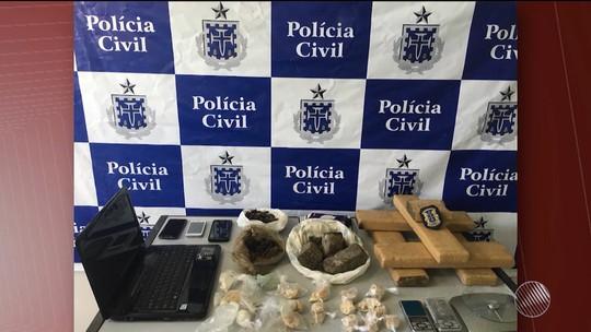 Quatro são presos suspeitos de homicídios ligados ao tráfico de drogas na BA