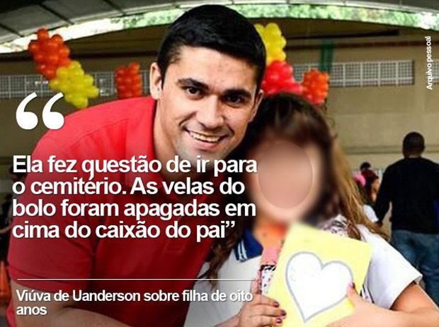 Uanderson foi o primeiro comandante de UPP a morrer no Rio (Foto: Arquivo pessoal)