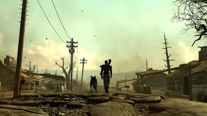 Jogadores se aventuraram intensamente no enorme mundo pós-apocalíptico de Fallout 3 (Foto: Reprodução/The Martian Chronicles)