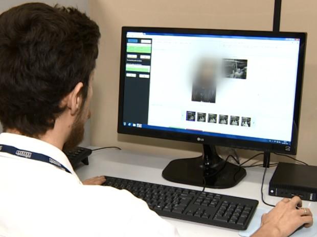 Uma equipe vai analisar as imagens registradas (Foto: Reprodução EPTV)