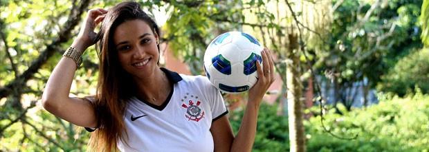 Débora nascimento jogo inesquecível (Foto: Marcelinho de Jesus / Globoesporte.com)