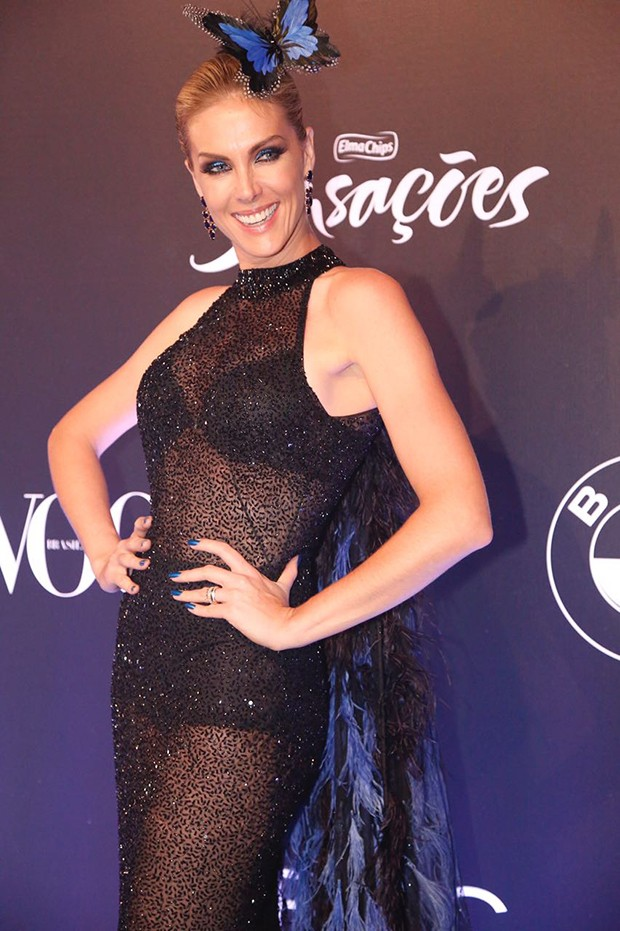 Ana Hickmann (Foto: Eduardo Saraiva/ Ed. Globo)