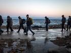 Chegada de imigrantes à Grécia caiu bruscamente em novembro