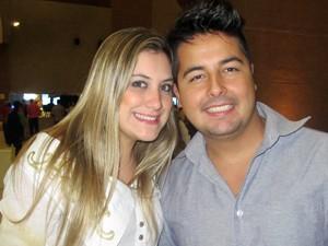 Caroline e Avelar: 'Não sabíamos' (Foto: Marcelo Mora/G1)