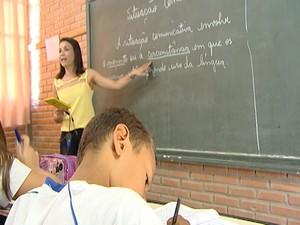 Professora ficou entre os 20 selecionados do Prêmio (Foto: Reprodução/TV Integração)