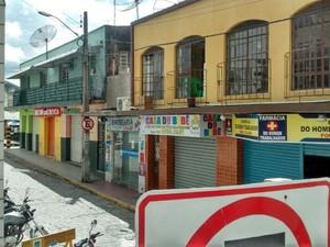 Segundo a polícia, houve dois registros de roubo na cidade (Foto: Divulgação/Internauta)